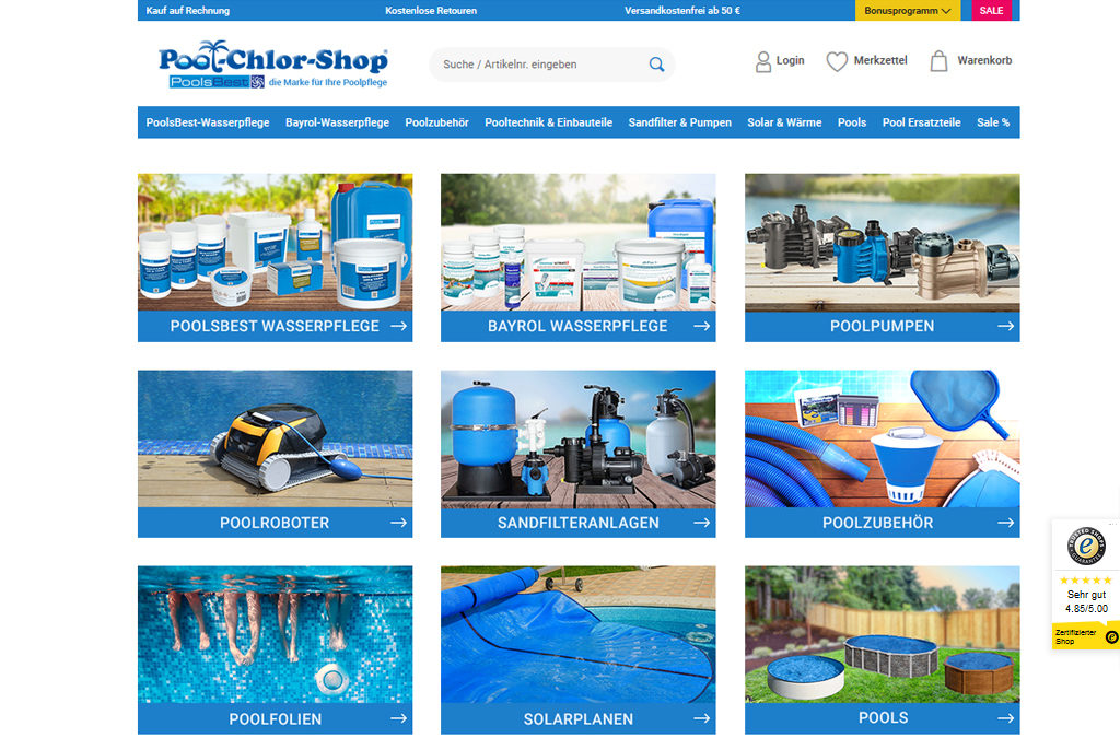 Pool-Chlor-Shop